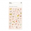 Assortiment de 50 Stickers en relief Paper Poetry Magical Summer Cool Icône x1