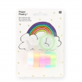 Assortment of 5 adhesive tapes Paper Poetry Magical Summerc Rainbow x1
