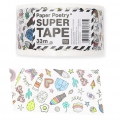 Adhesive tape - Paper Poetry 50 mm Magical Summer White x33m