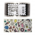 Adhesive tape - Paper Poetry Super 50 mm Magical Summer Transparent x33m