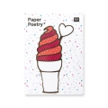 50 Sticky notes Paper Poetry - Magical Summer Ice cream x1