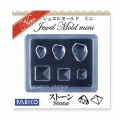 Padico Silicone mini mold for polymer clay/clay/resin UV cabochon stone