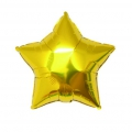 Aluminum balloon for festive decoration Yey - Let's Party star Gold Tone x1