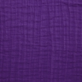 Double gauze cotton Fabric Amethyst x10cm