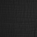 Double gauze cotton Fabric Black x10cm