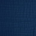 Double gauze cotton Fabric Cobalt x10cm