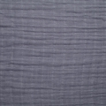 Double gauze cotton Fabric Graphite Grey x10cm