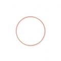 Spacer  for beadweaving round 30 mm rosegold tone