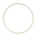 Spacer  for beadweaving round 50 mm gold tone