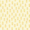 Adornit Fabric - Flamingo Fever - Golden Pineapple Turnover  x10cm