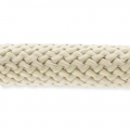 Braided cord 10 mm Ivoiry x2.80m
