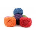 Braided jute cord 2mm Pink x 60 m