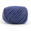 Braided jute cord 2mm Blue x 60 m