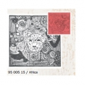 Clay Texture Stamps - 9 cm Africa