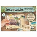 Paper Design Mix and Match for Scrapbooking - Journey x1