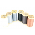 Gloving thread for patchwork from the Au Chinois brand - Souris (130) x150m