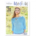 Catalogue Natura Just Cotton Medium - 20 moodèles - tricot et crochet