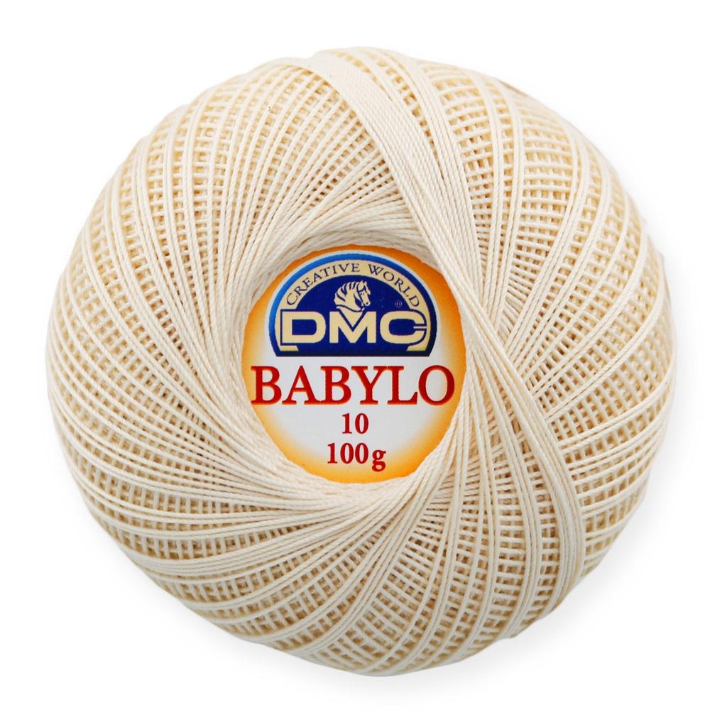 Cotton Crochet Thread Babylo 10 Dmc Ecru X 530 M Perles Co
