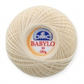Cotton crochet thread Babylo 30 DMC Ecru x 530 m