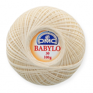 Cotton Crochet Thread Babylo 30 Dmc Ecru X 530 M Perles Co