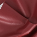 Faux leather fabric Dark Red x10cm
