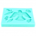 Silicone mold for polymer clay/clay Ethnic/Bird/Feather