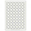 Grand Pochoir décoratif Artistic Flair 21x29,7cm Houndstooth