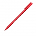 Triangular felt tip 0.8 mm - triplus broadliner STAEDTLER - Red
