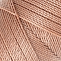 Linhasita wax thread bobbin for micro macramé 1 mm Sand x180m