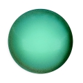 Glass Cabochon by Puca® 18 mm Green Turquoise Pearl x 1