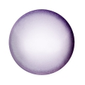Glass Cabochon by Puca® 18 mm Violet Pearl x 1