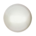 Glass Cabochon by Puca® 18 mm White Pearl x 1