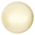 Glass Cabochon by Puca® 25 mm Cream Pearl x 1