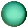 Glass Cabochon by Puca® 25 mm Green Turquoise Pearl x 1