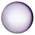 Glass Cabochon by Puca® 25 mm Violet Pearl x 1