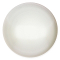 Glass Cabochon by Puca® 25 mm White Pearl x 1