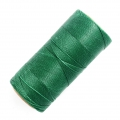 Linhasita wax thread bobbin for micro macramé 0.5mm Dark Green (87) x335m