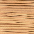 European Leather cord 2mm Natural x1m