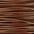 European Leather cord 2mm Brown x1m