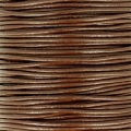 European Leather cord 1.5mm Brown x1m