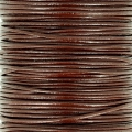 European Leather cord 1mm Brown x1m