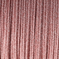 Brillante métal Braid Made in Italy 3.5 mm Pink / Silverx1m
