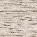 Brillant metal soutache braid Made in Italy 3.5 mm  Beige / Gold x1m