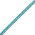Moonlight soutache Braid Made in Italy 3.5 mm Turquoise / Bleu x1m