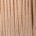 Shiri métal Braid Made in Italy 4 mm Old Pink x1m