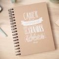 Notebook Mr. Wonderful with superpowers to bring great ideas