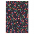 Booklet - Notebook Frida Khalo 210x148 cm floral pattern Green