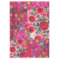 Booklet - Notebook Frida Khalo 210x148 cm floral pattern Black and White Photo