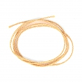 Gold Cord 2mm with Gold tone thread x 1m