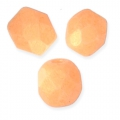 Faceted beads 4mm Tangerine Pacifica x50
